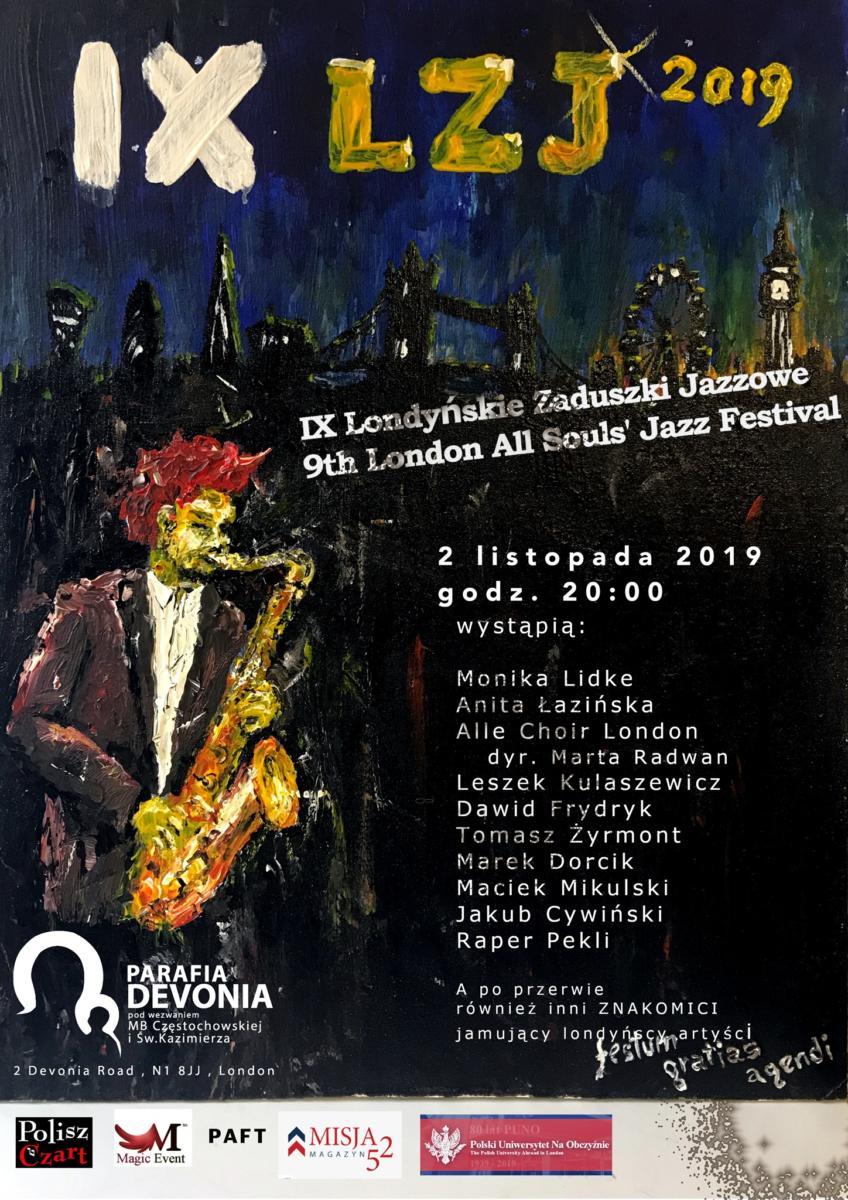 Alle Choir London Zaduszki Jazzowe 2019 London All Souls' Jazz Festival